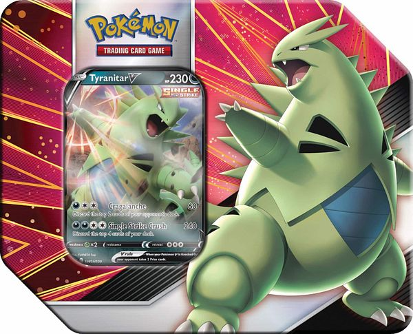 Pokémon Pokemon TCG: V Strikers Tin 82955 - $22.99