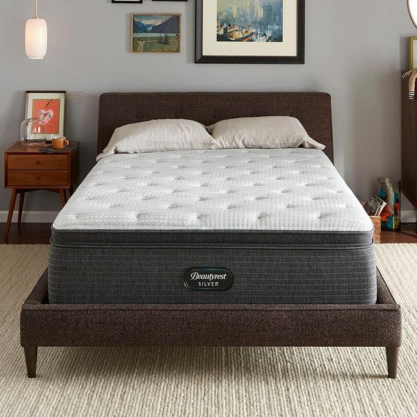 King Plush Pillow Top Mattress with 6 in. Box Spring $197.99