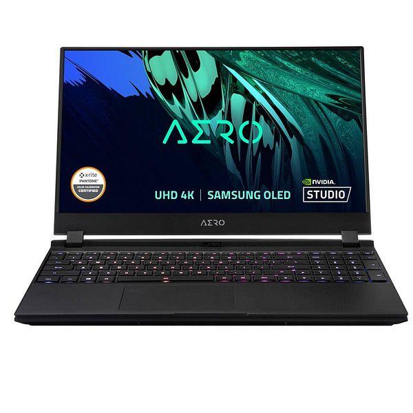 """Gigabyte AERO 15 Laptop: i7-11800H, 15.6"""" 4K OLED, 512GB, 16GB, RTX 3060"""