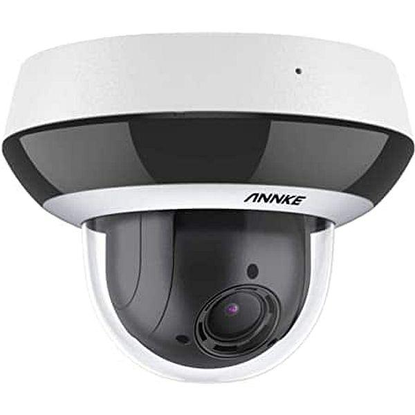 ANNKE CZ400 4MP 4X Optical Zoom AI PoE PTZ Dome IP Camera with 7 Advanced Algorithms