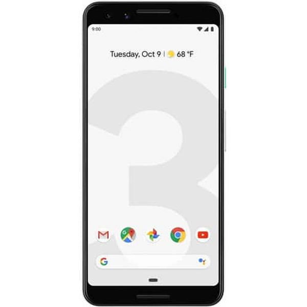 64GB and 128GB Google Pixel 3 (Fully Unlocked) (Scratch and Dent)