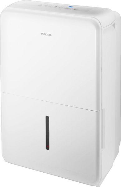 Insignia™ 50-Pint Dehumidifier White NS-DH50WH1