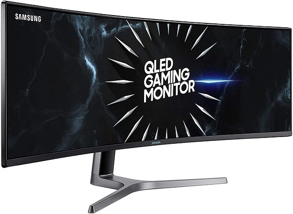 SAMSUNG 49-Inch CRG9 Curved Gaming Monitor, Black, QHD, 120Hz