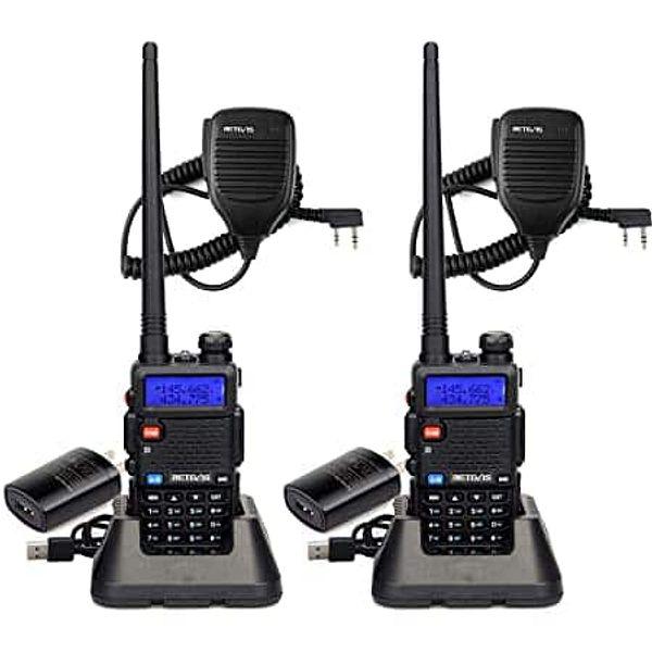 2 pack 7W  Dual Band V/U   Long range  Two way radios ham radio