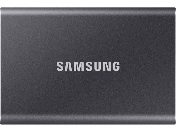 Samsung 500GB T7 USB 3.2 Portable Solid State Drive SSD (Blue or Grey)