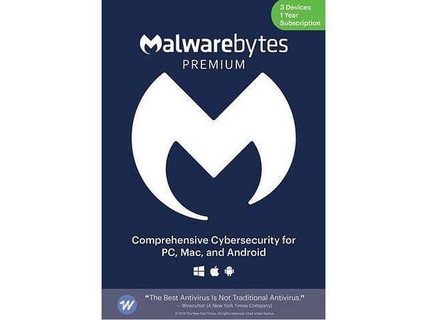 Malwarebytes Anti-Malware Premium 4.0 (1 Year / 3 Devices - Download) for $23.99