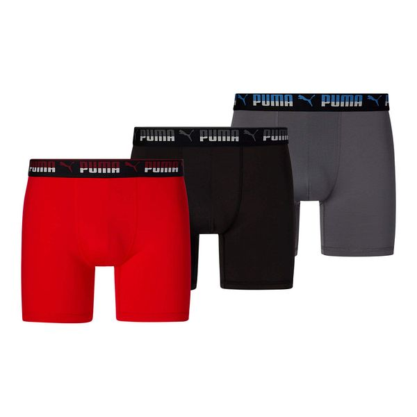 3-Pack Puma Men's Training Boxer Briefs $10 ($3.33 each), Essentials Jersey Polo $10, More + free shipping