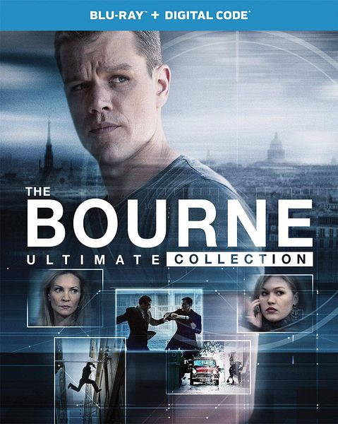 The Bourne Ultimate Collection (Blu-ray + Digital) $16.79 + Free Shipping