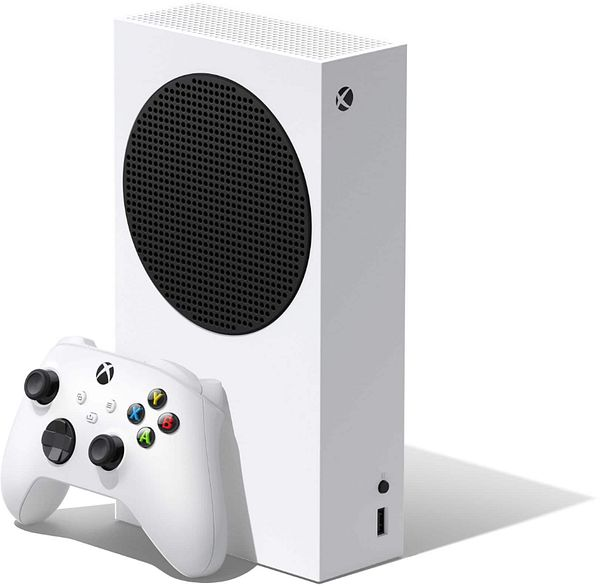 Microsoft Xbox Series S 512 GB All-Digital Console (Disc-free Gaming) White RRS-00001