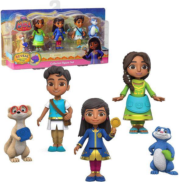 5-Pc Disney Junior Mira The Royal Detective Collector Figure Set
