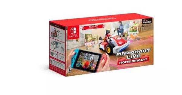 Mario Kart Live: Home Circuit mario set or Luigi set