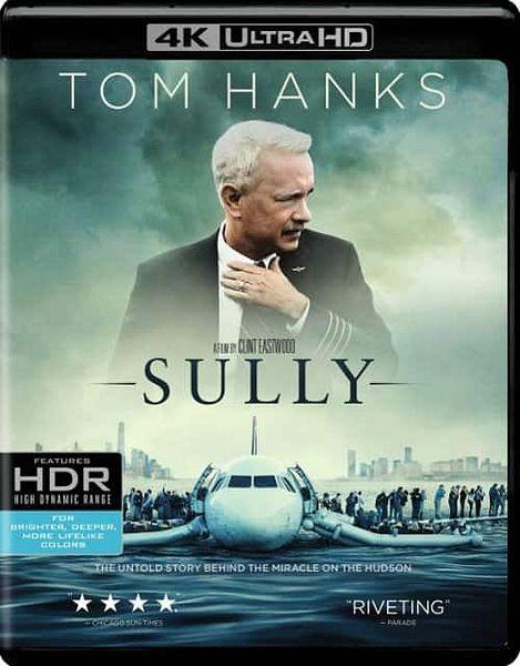 Sully [4K Ultra HD Blu-ray/Blu-ray/Digital] [2016]