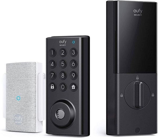 eufy Security Smart Lock with Wi-Fi Bridge, 4 ways to unlock with App Control $129.99 + Free Shipping