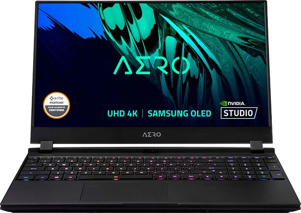 "GIGABYTE 15.6"" 4K OLED Creator Laptop Intel Core i7-11800H 16GB NVIDIA GeForce RTX 3060 1TB SSD AERO 15 OLED KD-72US624SP - Best Buy"