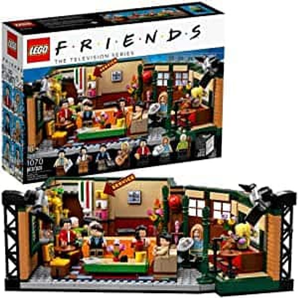 1070-Piece LEGO Ideas Friends Central Perk Building Set