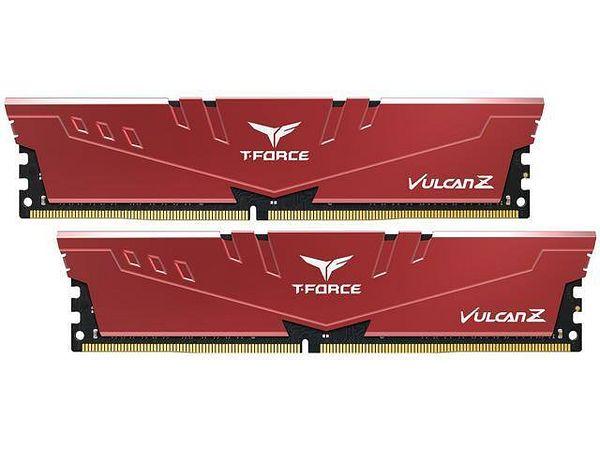 Team T-FORCE VULCAN Z 16GB (2 x 8GB) [DDR4 3600 (PC4 28800), 18-22-22-42] 288-Pin DDR4 SDRAM