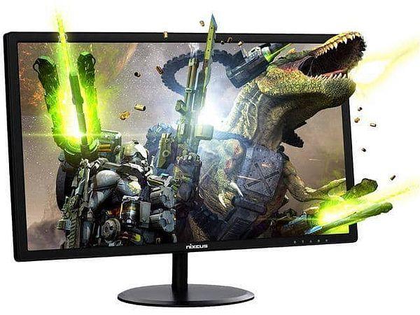 "Nixeus EDG Gaming Monitor [24"", Full HD, AMD Radeon FreeSync Certified, 144Hz, 1MS, TN Panel]"