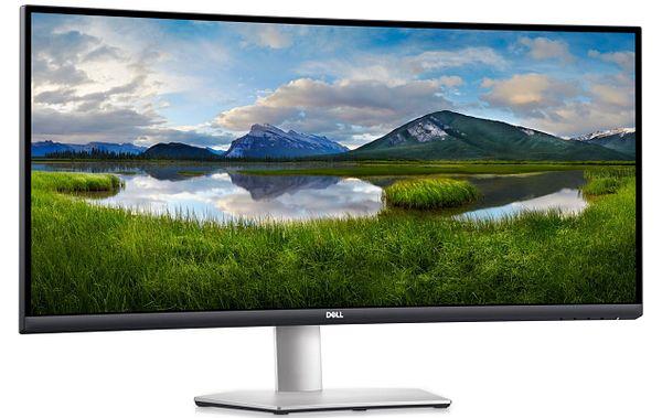 """34"""" Dell S3422DW 3440x1440 WQHD 4ms 100Hz Curved FreeSync VA Monitor"""