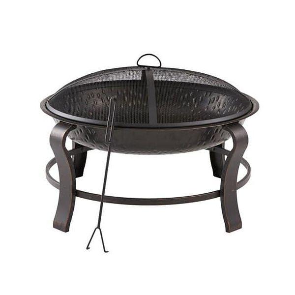 Mainstays Owen Park 28 inch Round Wood Burning Fire Pit $18.37