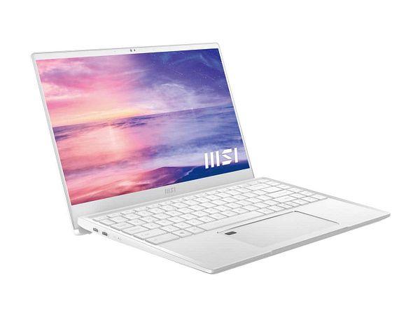 MSI Laptop Prestige 14 EVO Intel Core i5 11th Gen 1135G7 (2.40 GHz) 16 GB  512 GB